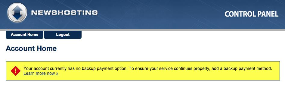 Newshosting Backup Pay