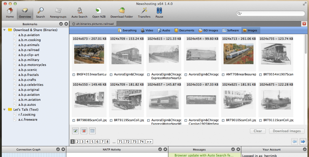 Browse the Pictures Groups with Our Image Viewer