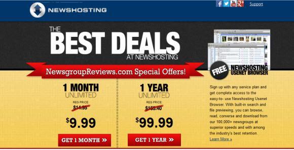 Newshosting Voted Best Usenet Provider 2013