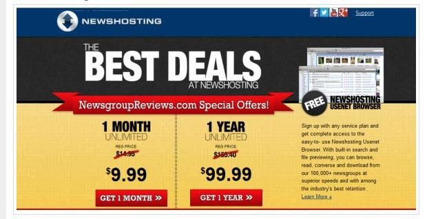 Newshosting Named Newsgroup Reviews Winner for 2014 Best Usenet Provider