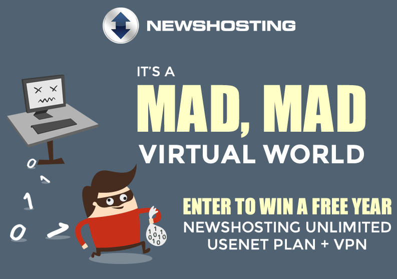 Enter for Your Chance to Win Unlimited Usenet Access & VPN