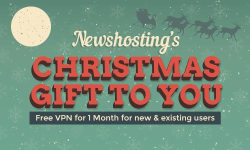 Newshosting's Christmas Gift To You – Free VPN