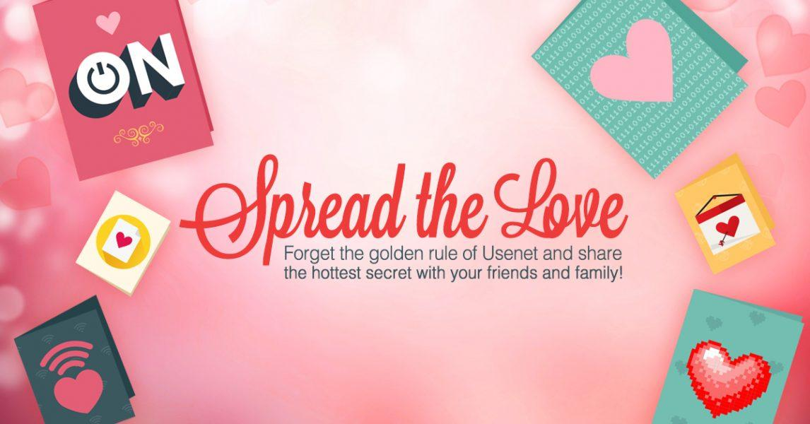 Spread the Love – Usenet Contests, Savings, and More!