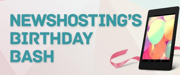 Giveaway Nexus 7 Newshosting Birthday Bash