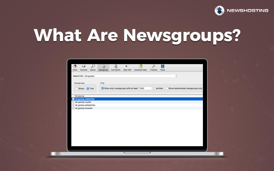 Learning Center - Newshosting Usenet